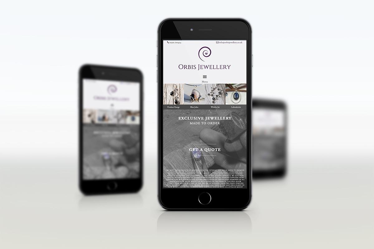 mobile optimised website